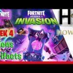 Alien Artifacts Fortnite Week 4