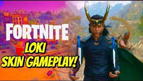 Fortnite Loki Skin Announcement