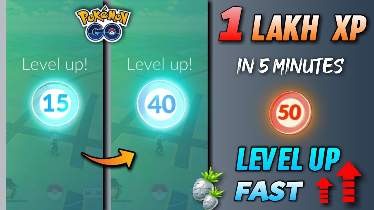 How to Level Up Fast in Pokemon Go