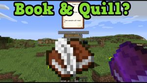Minecraft Book and Quill