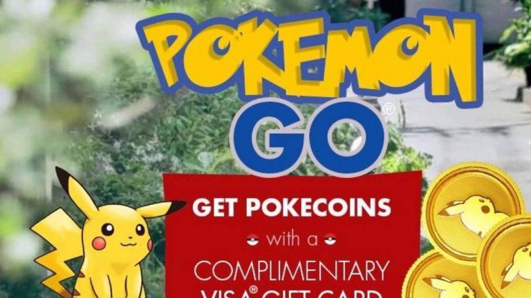 Pokemon Go Gift Card