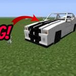 how to make a car in minecraft