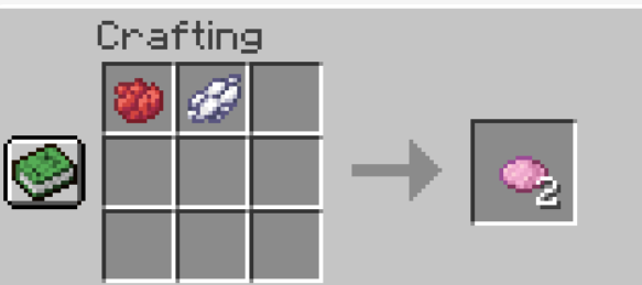 How To Make a Pink Dye In Minecraft