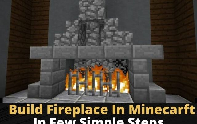 How to make FirePlace in Minecraft