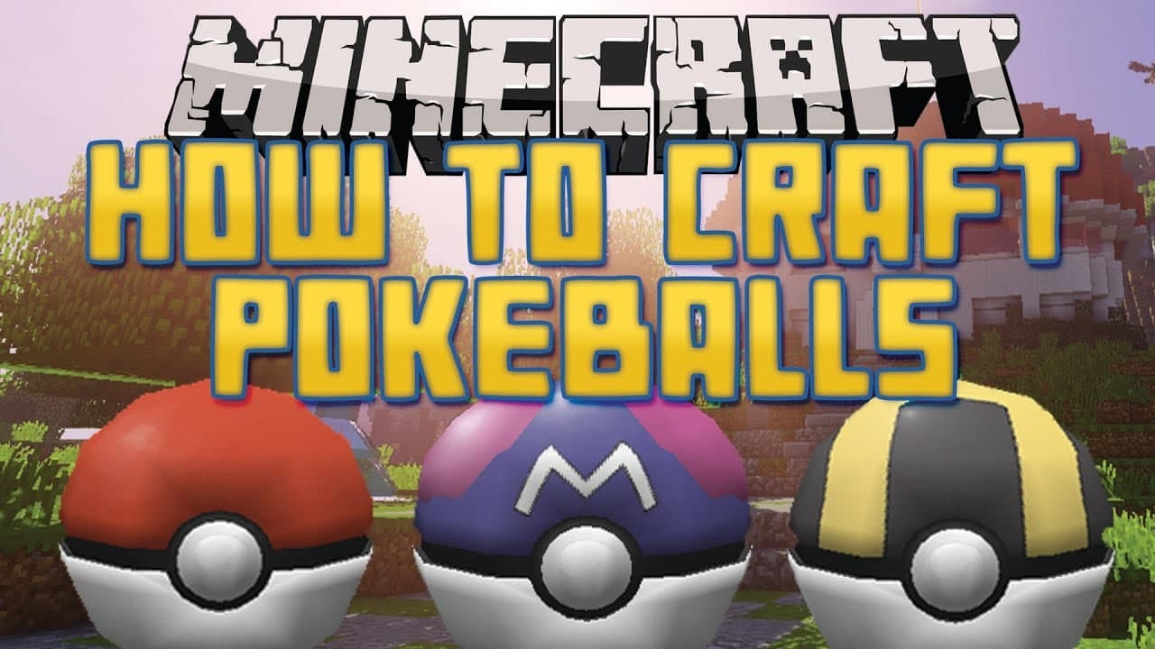 How to Make Poké Balls In Pixelmon Reforged Mod